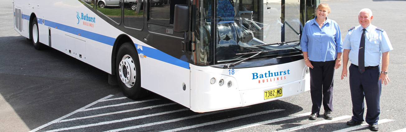 Bathurst Buslines bus