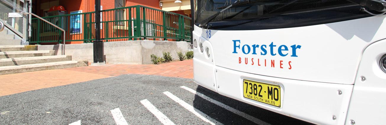 Forster Buslines bus