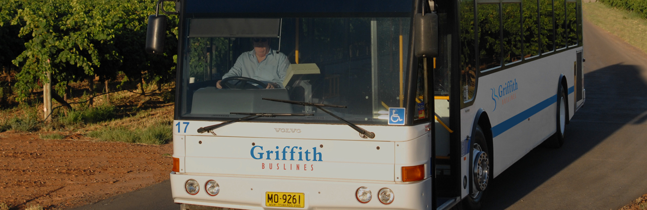 Griffith Buslines bus