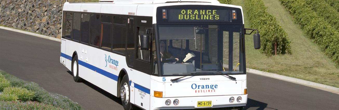 Orange Buslines bus